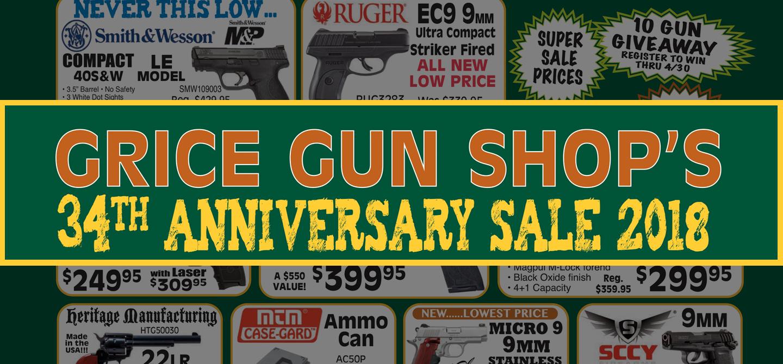 2018 Anniversary Sale Flyer