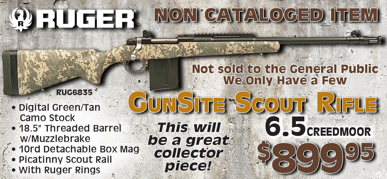 M77 Gunsite Brown Camo