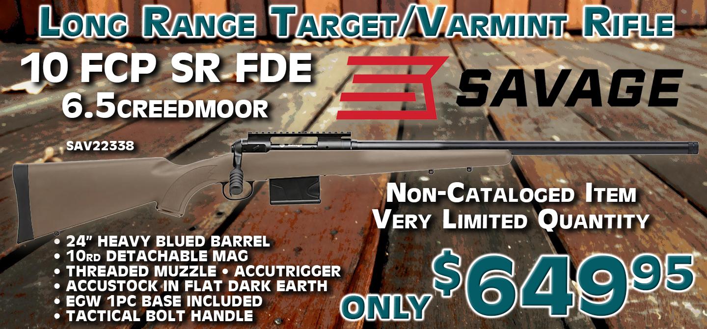 Savage 10 FCP-SR